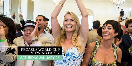 Pegasus World Cup Viewing Party in the Chandelier Room