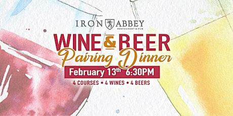 Valentine's Wine & Beer Pairing Dinner tickets