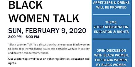 NCBW-SVC Black Women Talk tickets