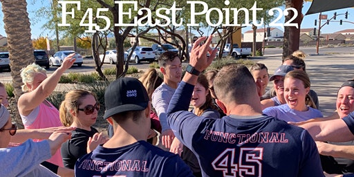 F45 East Point 22 FREE outdoor bootcamp