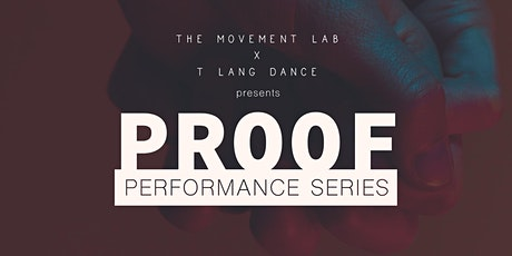 PROOF Performance Series tickets