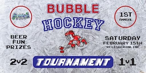 Pixeled Bubble Hockey Tournament