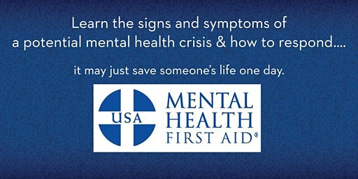 Mental Health First Aid Class (Youth Focused)