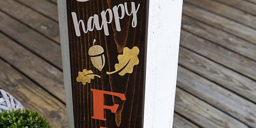 Chalker's Anonymous - Happy Fall Ya'll 5 ft Porch Sign
