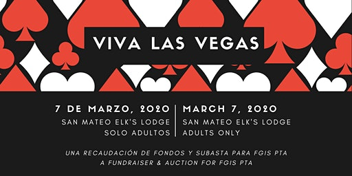 Viva Las Vegas — A Fundraiser & Auction for the Fiesta Gardens PTA