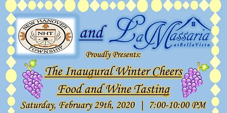 Winter Cheers Food and Wine Tasting tickets