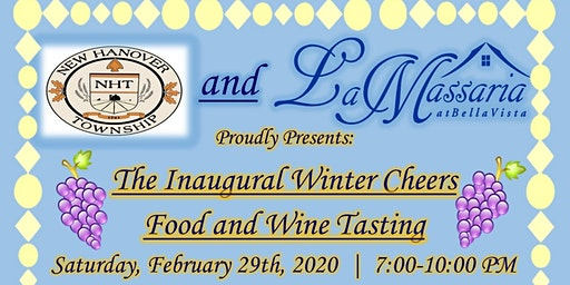 Winter Cheers Food and Wine Tasting