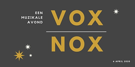 Vox Nox tickets