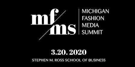 The Michigan Fashion Media Summit 2020 tickets