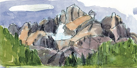 The Mountains Around Us & The Nature Within - Watercolor Nature Journal Workshop tickets