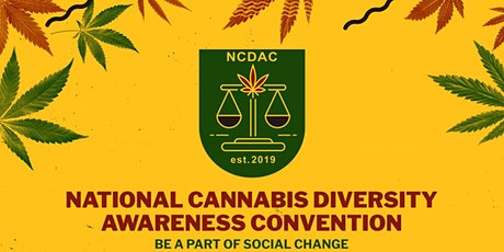 National Cannabis Diversity Awareness Convention (NCDAC) 2020 tickets