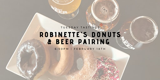 Robinette's Donuts & Beer Pairing