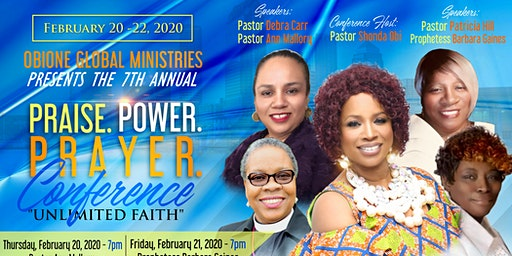 7TH ANNUAL PRAISE*POWER*PRAYER  CONFERENCE-TAMPA, FL