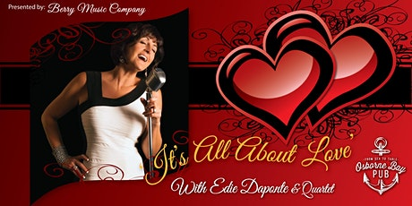 Valentine's Day 3 Course Dinner and Show with Edie Daponte tickets