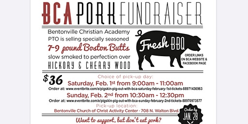Pigskin Pig Out with BCA (Sunday February 2nd)