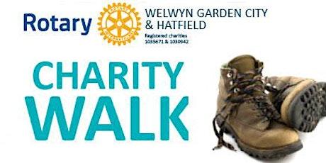 Welwyn Hatfield Rotary Charity Walk round Welwyn Garden City tickets