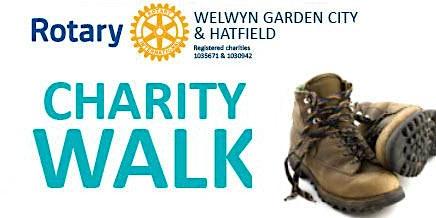 Welwyn Hatfield Rotary Charity Walk round Welwyn Garden City