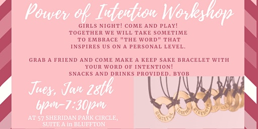 Power of Intention Workshop
