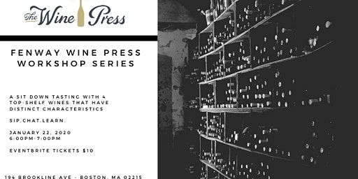 Fenway Wine Press Workshop Series