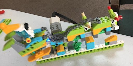 Build code program ages 4-9 workshop