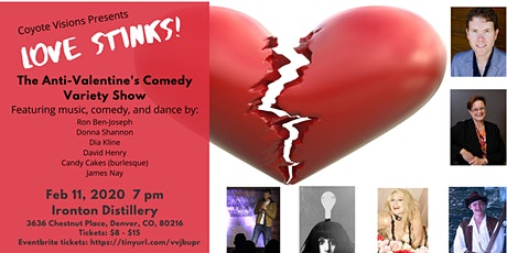 Love Stinks! The Anti-Valentine's Day Comedy Variety Show tickets