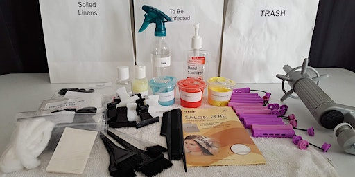 Cosmetology and Hair Designer State Board Practical exam prep class(Includes state board exam kit).