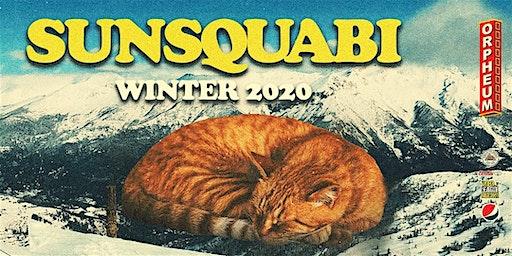 Sunsquabi Winter 2020 w/ Balkan Bump January 25th at the Orpheum