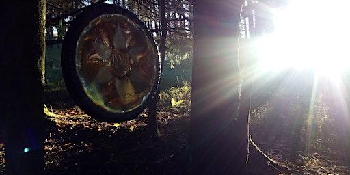 Woodland (Open Air) Gong Meditation Session, Blackmill (near Bridgend)