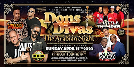 DONS & DIVAS 2020 -The Arabian & Indian Themed Night (ANTHONY G ARIES BASH) billets
