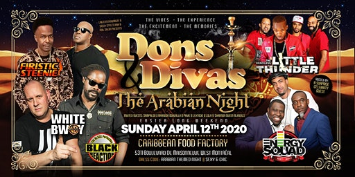 DONS & DIVAS 2020 -The Arabian & Indian Themed Night (ANTHONY G ARIES BASH)