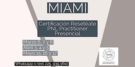 Coach Practitioner PNL Programación Neurolinguistica tickets