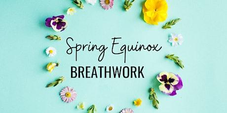 Spring Equinox Breathwork  tickets