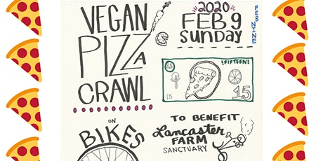 Vegan Pizza Crawl on Bikes! tickets