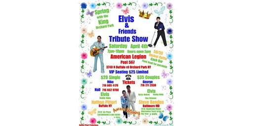 Elvis & Friends Tribute Show/Spring with the King