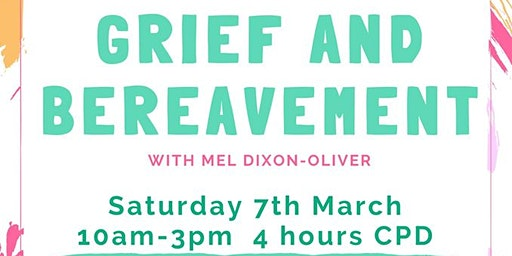 Workshop: Grief & Bereavement (4hrs CPD)