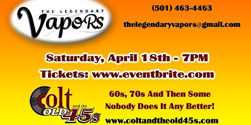 Colt and the Old 45s Live Event