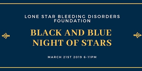 Black and Blue Night of Stars tickets