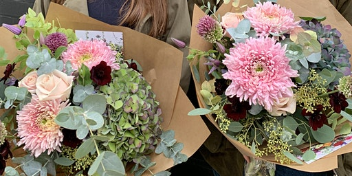 New Covent Garden Flower Market Tour and Floristry Workshop