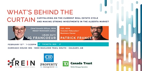 Your 2020 Guide to Making Strong Real Estate Investments in Alberta tickets