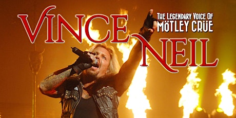 Vince Neil of Mötley Crüe tickets