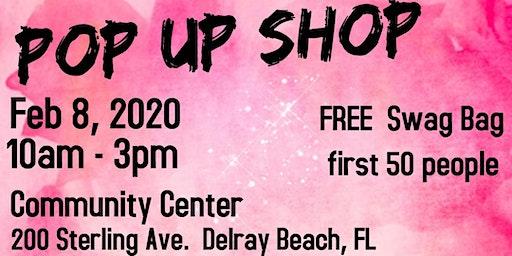FREE Pop Up Shop