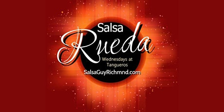 Postponed - New Beginner Salsa RUEDA Classes Now Forming on Wednesdays! tickets