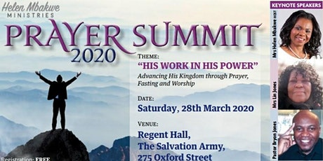 Prayer Summit 2020 tickets