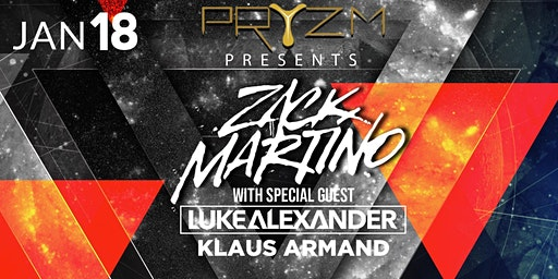 Zack Martino, Luke Alexander, Klaus Armand at Pryzm Club Grand Re-Opening