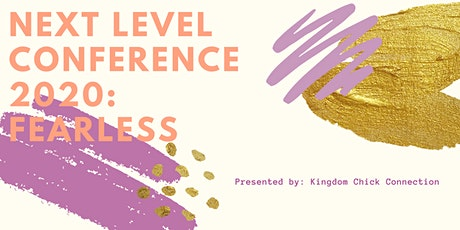KCC Next Level Conference 2020: Fearless tickets