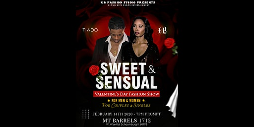 Sweet & Sensual Valentine's Day Fashion Show