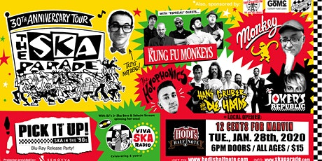 Ska Parade 30th Annv. Tour feat. Los Kung-fu Monkeys and many more! tickets