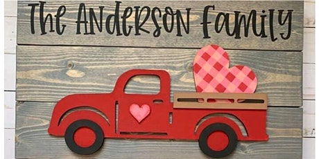 Sip n' Design Party -  TACO TUESDAY & 3D VINTAGE TRUCK SIGN tickets