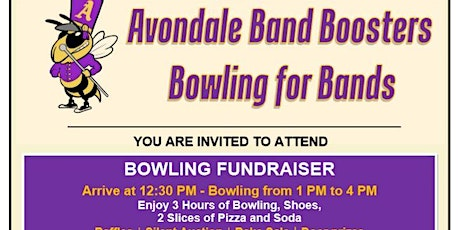 Avondale Band Boosters Bowling for Bands tickets