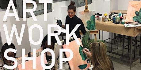 Art Workshop / Acrylmalerei Tickets